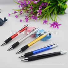 Gummi-Griff Metall Office Pen
