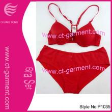 Fashion Seamless Sexy Underwear Bra Set (P1036)