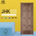 JHK-Antique Bathroom Wood Veneer MDF Doors