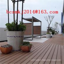 Decking composto decorativo exterior impermeável para a placa de natação