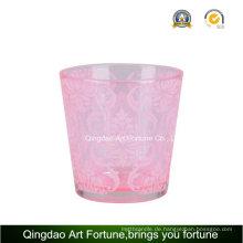 Heißer Verkauf Teelicht-Kerze-Halter-Glaskerzenhalter