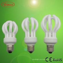 Flor de loto en forma de ahorro de energía lámpara (LWLF003)