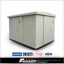 Minisub Kiosk électrique Minisub transformateur compact préfabriqué