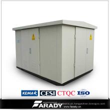 Subestação do transformador compacto de 15kv / 22kv / 33kv