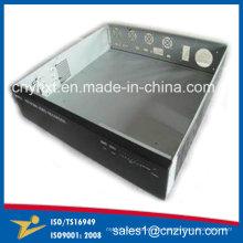 Präzises Bürsten-Metall, das für elektronische Einschließung verbiegend stempelt