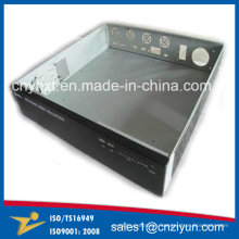 Precise Brush Metal Stamping Bending for Electronic Enclosure