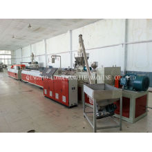 Pvc / Upvc Window Profile Extrusion Line , Twin Screw Extruder Line
