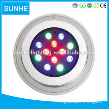High quality IP68 LED underwater fountain light 10-100w Multi color led swimming pool lights for fountain