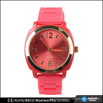 alloy watch silicone strap