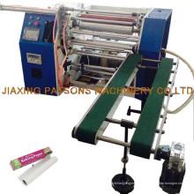 Machine de rembobinage de papier à pâtisserie alimentaire