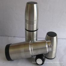 Tasse de voyage à vide en acier inoxydable avec couvercle (CL1C-A750L)