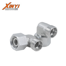 2021 Wholesale Stainless Steel Male 90 Degree Elbow Hydraulic Fittings Adapters