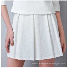 Hot Sale New Fashion Ladies Mini Skirt with Pleated