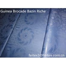 Светло-голубой shadda Гвинея парчи базен riche мягкий perfuem 100% хлопок африканские ткани штоке оптовые дизайн одежды