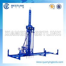 Horizontal & Vertical Pneumatic Mobile Rock Drill Machine
