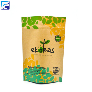 Reciclar Brown Kraft Paper Bags Atacado
