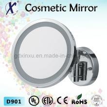 9 polegadas iluminado para suporte de parede de espelho do banheiro (D901)