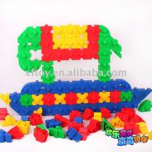 Blocos de construção plásticos do jardim de infância