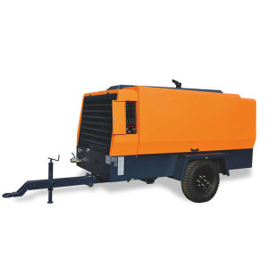 Energy Saving Diesel Movable Screw Air Compressor