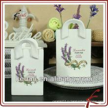 Недорогой цветочный горшок керамический