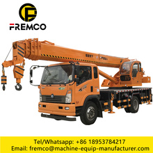 16 Tons Mounted Truck With Crane