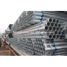 Tubos y tubos de acero galvanizado ASTM A53 fábrica