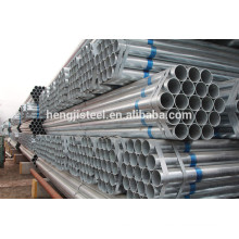 Galvanized steel pipe and tubes ASTM A53 factory
