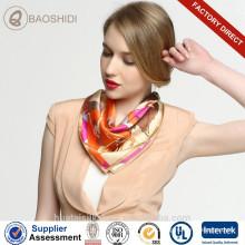 55x55cm маленький шейный платок шелковый атласный шарф для стюардессы авиакомпании