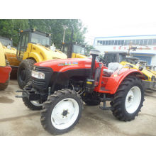 75hp Paddy 4x4 Four Wheel Tractor Hydraulic Steering , 4wd 4 Wheeled Tractor