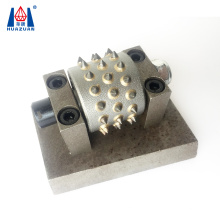 Tungsten Carbide Litchi surface grinding head bush hammer roller tool for Sale