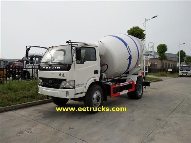 500 Gallon 4.5T Concrete Mixer Transport Trucks