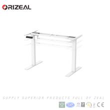 Melhor venda de mobiliário de escritório elétrico altura ajustável em pé mesa do computador Oferta especial