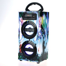600mAh sound system ibastek dolphin speaker, Portable karaoke led crackle design bluetooth speakers