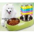 Haustier-Versorgungsmaterial-Hundeprodukt-keramische Nahrungsmittelwasser-Hundeschüssel