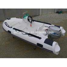 CE rigid fiberglass hull RIB350 boat