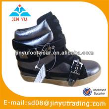 Frauen versteckte Plattform Stiefel Schuhe