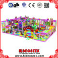 Candy Theme Combination Chidlren Indoor Soft Play Center