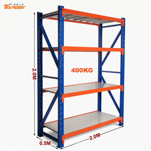 2000 x 500 x 2000mm medium duty steel boltless industrial racking