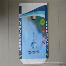 Sac en polypropylène tissé stratifié de 25kg / 50kgbopp