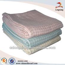 Bamboo fiber jacquard sofa mat blanket