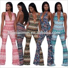 2017 novo outono personalizado mulheres moda macacão de uma peça