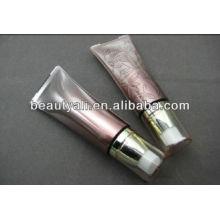 Acrylic cream tube with pump cap