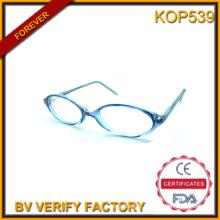 Kop0539 lunettes de soleil en plastique pour enfant avec lentille claire