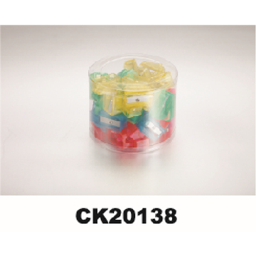 Sacapuntas de plástico con caja simple