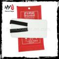 Fabricação de fogo extinguir cobertor, personalizado cobertor de fogo, cozinha usando anti cobertor de fogo