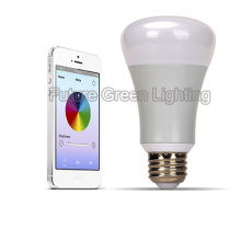 6W E27 / E26 Diamètre LED couleur Ampoule intelligente