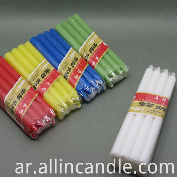 color candle