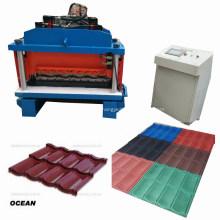 Zinkbeschichtete farbige Stahlblechrolle, die Maschine bildet