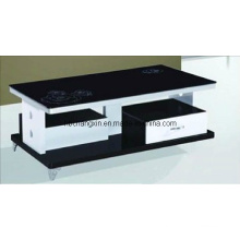 High Quality Modern Wood Glass Coffee Table Cx-CT-A82