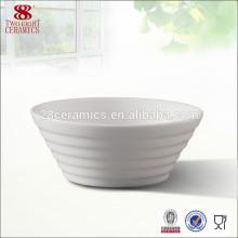 Cuencos de arroz chinos de la porcelana de cerámica blanca de Guangzhou al por mayor de China